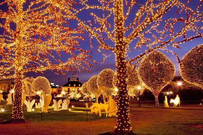 Christmas Décor and Lights, Opryland Hotel, Nashville, Tennessee, USA-Brian Jannsen-Photographic Print