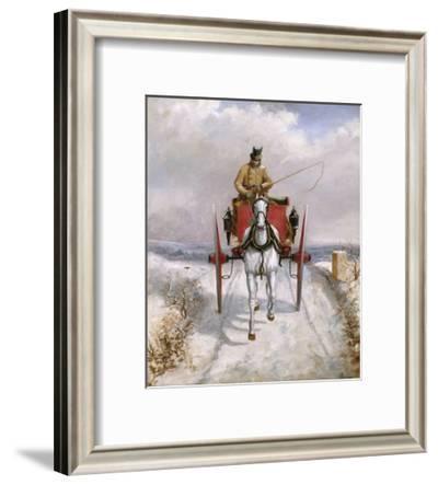 Christmas Deliveries-Henry Thomas Alken-Framed Giclee Print