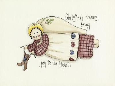 Christmas Dreams Angel-Debbie McMaster-Giclee Print