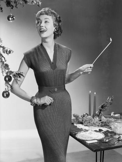Christmas Dress-Chaloner Woods-Photographic Print