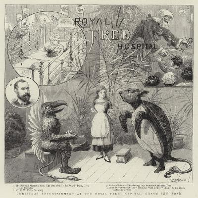 Christmas Entertainment at the Royal Free Hospital, Gray's Inn Road-Charles Joseph Staniland-Giclee Print