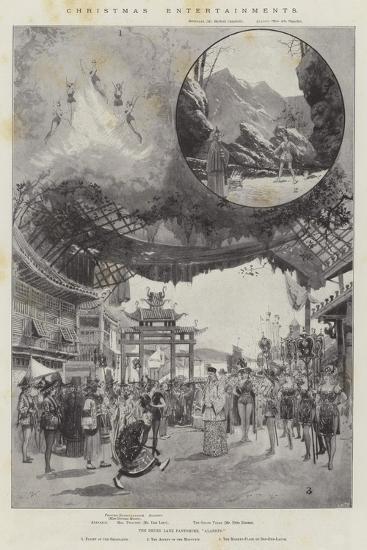 Christmas Entertainments-Joseph Holland Tringham-Giclee Print