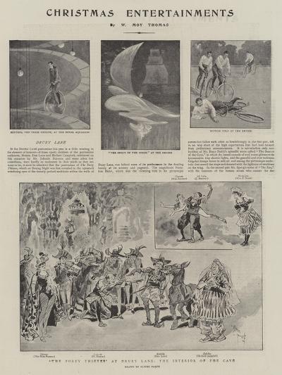 Christmas Entertainments--Giclee Print