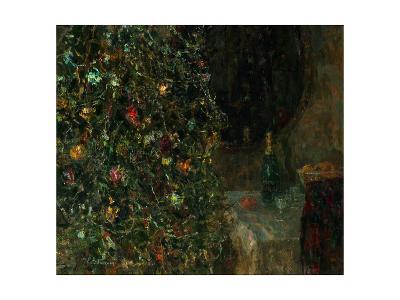 Christmas Eve, 1991-Evgeni Vladislavovich Ryabinsky-Giclee Print