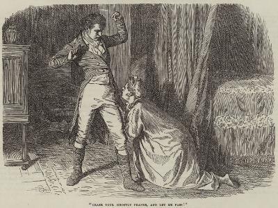 Christmas Eve at Lonethorpe Manor--Giclee Print