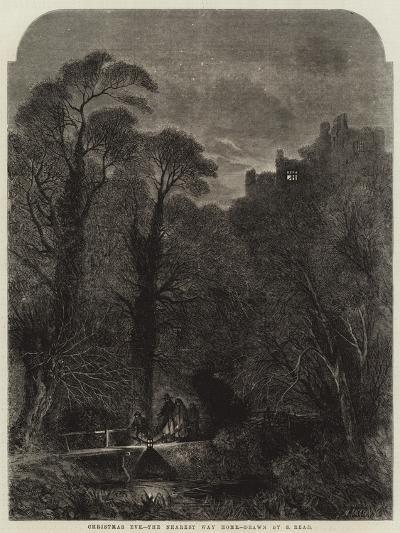 Christmas Eve, the Nearest Way Home-Samuel Read-Giclee Print