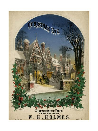 Christmas Eve Visiting-Alfred Concanen-Giclee Print