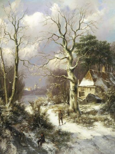 Christmas Eve-Hendrik Barend Koekkoek-Giclee Print