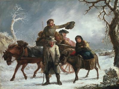 Christmas Eve-John Joseph Barker-Giclee Print