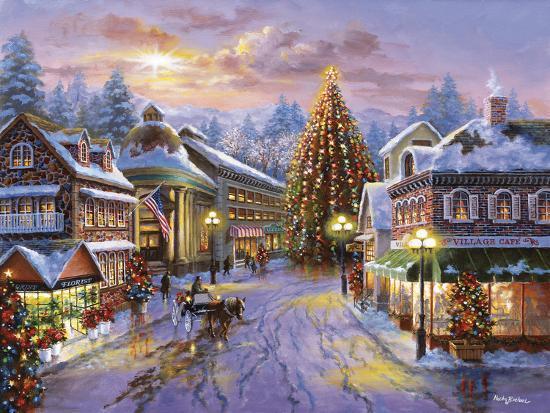 Christmas Eve-Nicky Boehme-Premium Giclee Print