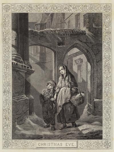 Christmas Eve--Giclee Print