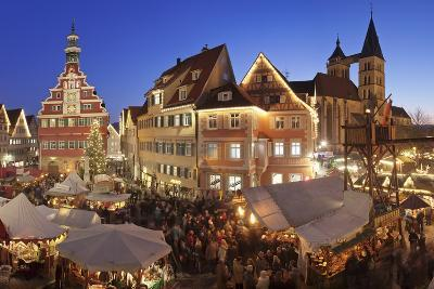 Christmas Fair at the Marketplace-Markus Lange-Photographic Print
