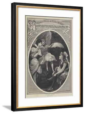 Christmas Fairies--Framed Giclee Print