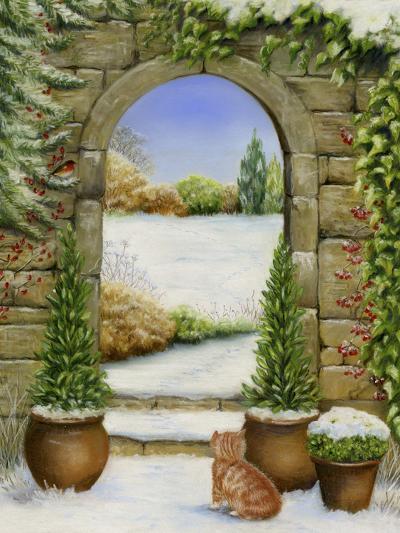 Christmas Garden-Janet Pidoux-Giclee Print