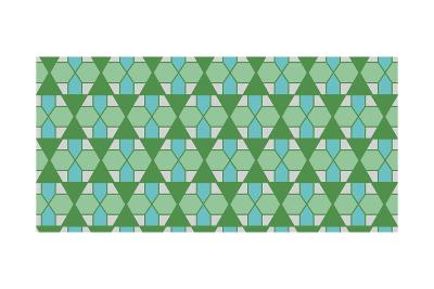 Christmas Geometric-Joanne Paynter Design-Giclee Print