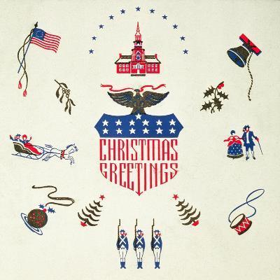 Christmas Greeting, Christmas Card--Giclee Print