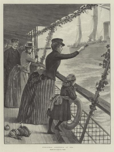 Christmas Greetings at Sea-Julius Mandes Price-Giclee Print