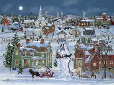 Christmas Homecoming-Bob Fair-Giclee Print