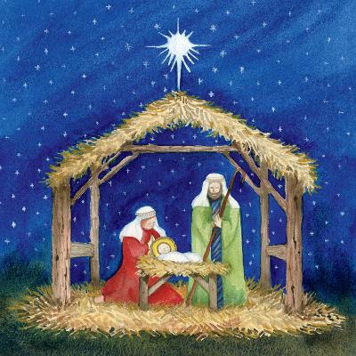 Christmas in Bethlehem III-Kathleen Parr McKenna-Art Print