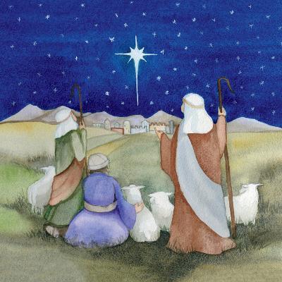 Christmas in Bethlehem IV-Kathleen Parr McKenna-Art Print