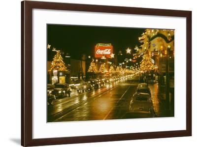 Christmas in LA-Harvey Meston-Framed Photographic Print