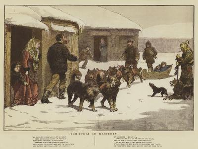Christmas in Manitoba--Giclee Print