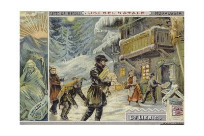 Christmas in Norway--Giclee Print