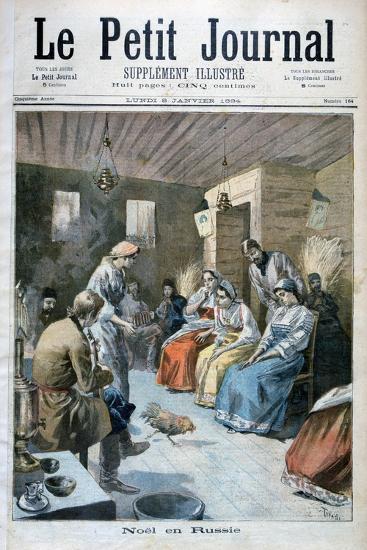Christmas in Russia, 1893-Oswaldo Tofani-Giclee Print
