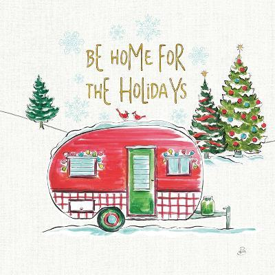 Christmas in the Country V-Daphne Brissonnet-Art Print