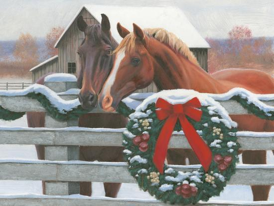 Christmas In The Heartland.Christmas In The Heartland Ii Art Print By James Wiens Art Com
