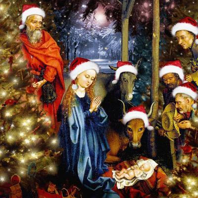 Christmas in the Stable, 2008-Trygve Skogrand-Giclee Print