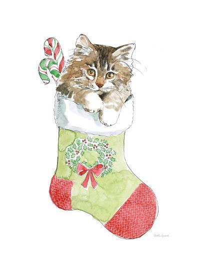 Christmas Kitties IV-Beth Grove-Art Print