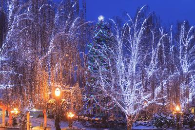 Christmas Lighting Festival, Leavenworth, Bavarian Village, Washington-Stuart Westmorland-Photographic Print