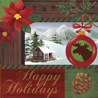 Christmas Lodge I-Fiona Stokes-Gilbert-Giclee Print