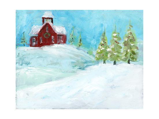 Christmas Meadows-Pamela J. Wingard-Art Print