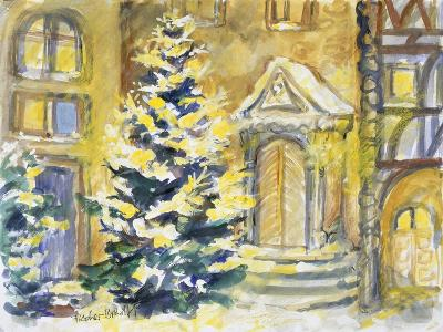 Christmas Mood at the Old Portal, 1996-Sybille Fischer-Bradford-Giclee Print