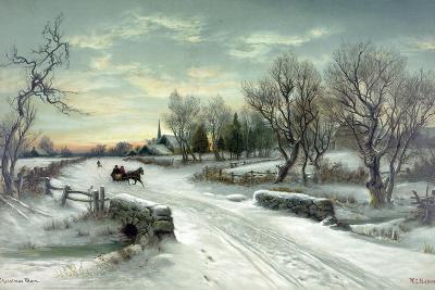 Christmas Morn--Giclee Print