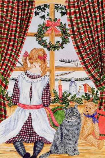 Christmas Morning at the Window-Catherine Bradbury-Giclee Print