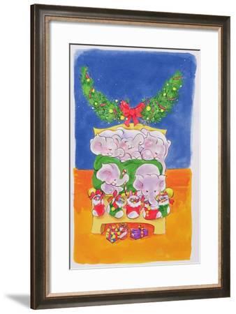 Christmas Morning-Diane Matthes-Framed Giclee Print