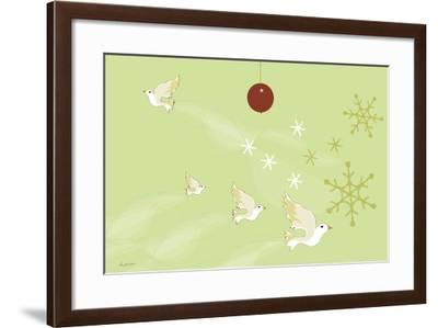 Christmas Morning-Anne Cote-Framed Giclee Print
