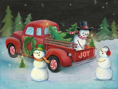 Christmas on Wheels II-Mary Urban-Art Print