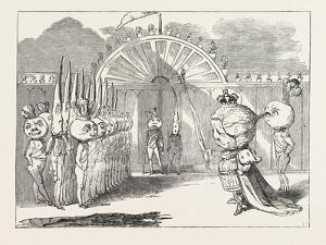 Christmas Pantomimes: Surrey. Scene from the Pantomime of The King of the Golden Seas; Or