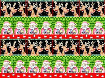 Christmas Pattern 1-Valarie Wade-Premium Giclee Print