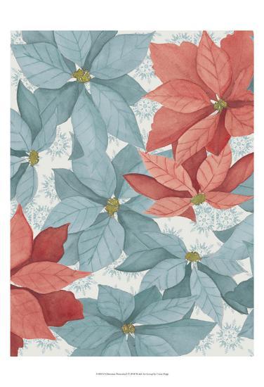 Christmas Poinsettia I-Grace Popp-Art Print