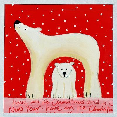 Christmas Polar Bears, 2000-Emma A.L. Greaves-Giclee Print
