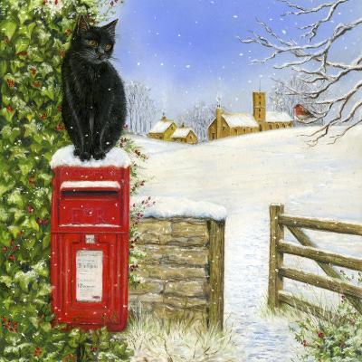 Christmas Post Box-Janet Pidoux-Giclee Print