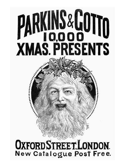 Christmas Present Ad, 1890--Giclee Print