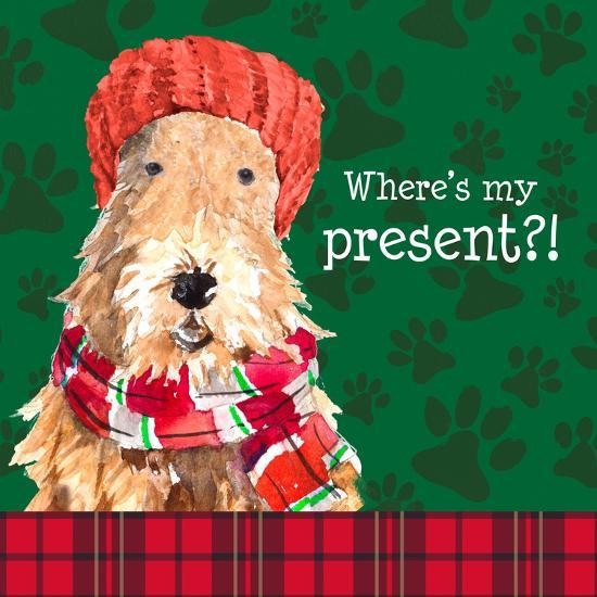 Christmas Puppy I-Lanie Loreth-Art Print