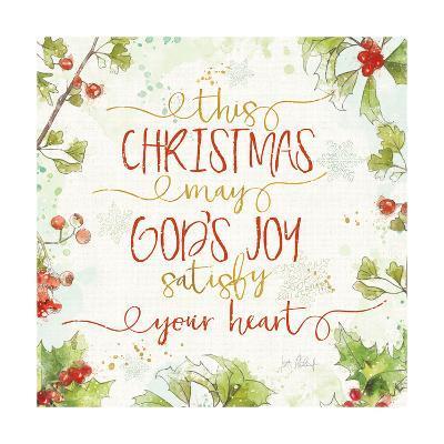 Christmas Sentiments III-Katie Pertiet-Art Print