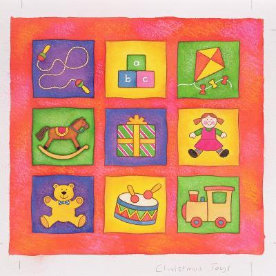 Christmas Toys-Cathy Baxter-Giclee Print